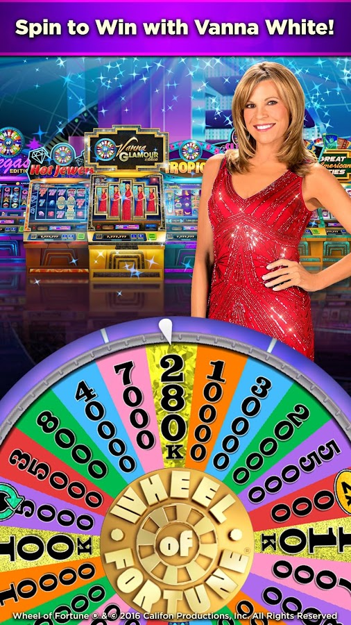 Wheel of Fortune Slots Casino Screenshot 0