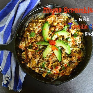 Migas Scrambled Eggs