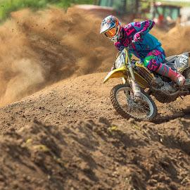 Roostin by Josh Rud - Sports & Fitness Motorsports ( sand, roost, motocross, motorcycle, mx, dirt bike )
