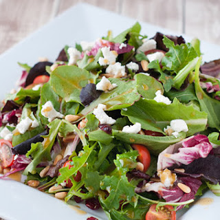 Goat Cheese Salad With Balsamic Vinaigrette Recipes