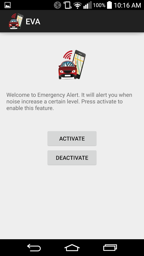 Emergency Vehicle Alert App Screenshot 1