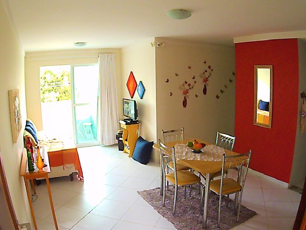 Apartamento com 2 dormitórios para alugar, 66 m² por R$ 1.100/mês - Bessa - João Pessoa/PB
