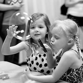 Bubble Party by Shannon Hogan - Babies & Children Children Candids ( bubbles, kids )