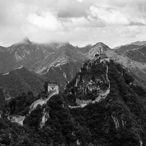 Great Wall by Sam De Block - Buildings & Architecture Public & Historical ( china, great wall of china, ancient, jiankou, lanscape )