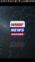 Screenshot of WMBF First Alert Weather