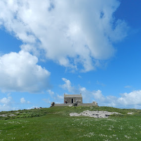 St Nicholas' Chapel by Kirsty Wilkins - Novices Only Landscapes ( st ives )