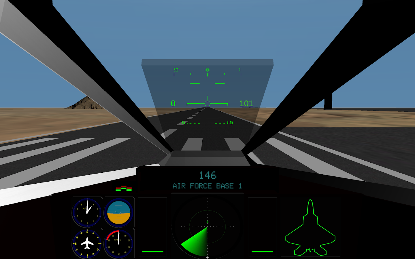 Fighter Pilot Screenshot 1