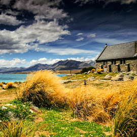 Lake Tekapo by Stanley P. - Landscapes Travel ( water, tekapo, new zealand )