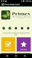 Screenshot of Primex Garden Center