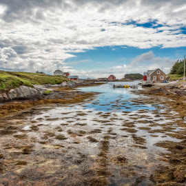 Somewhere along the Atlantic Ocean Road by Kjersti Skistad - Landscapes Travel ( sky, nature, colorful, colors, sea, atlantic ocean road, landscape )