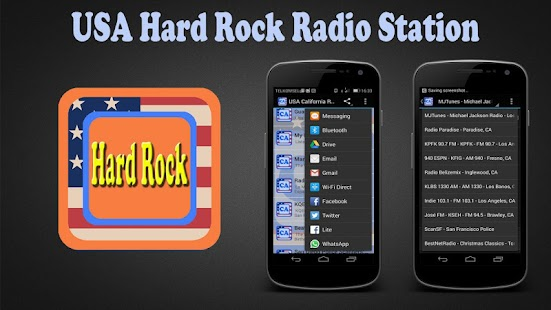 USA Hard Rock Radio Station - screenshot