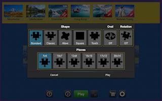 Screenshot of Jigsaw Genius Pro