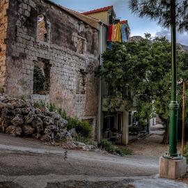 Punta by Bojan Bilas - City,  Street & Park  Neighborhoods ( croatia, architecture, gradac, town, neighbourhood )
