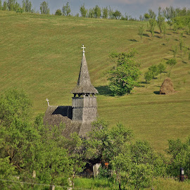 Sic by Ciprian Apetrei - Landscapes Travel ( hill, church, romania, traditional, landscape )