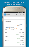 Screenshot of Schwab Mobile