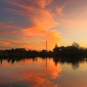 Banda by Riza Umary - Landscapes Sunsets & Sunrises