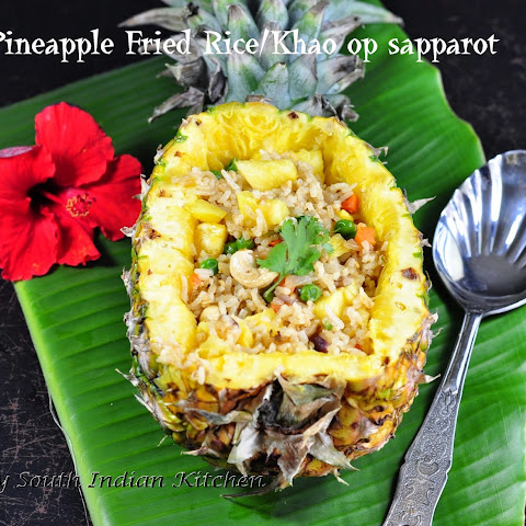 Thai Pineapple Fried Rice/Khao op sapparot