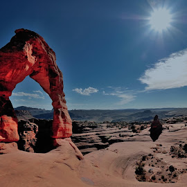 Delicate Arch - Arches NP by Tomasz Budziak - Landscapes Caves & Formations ( landscapes, usa, arches national park, arches )