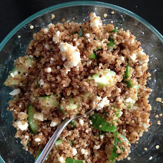 Cool Cucumber and Quinoa Salad Bowl