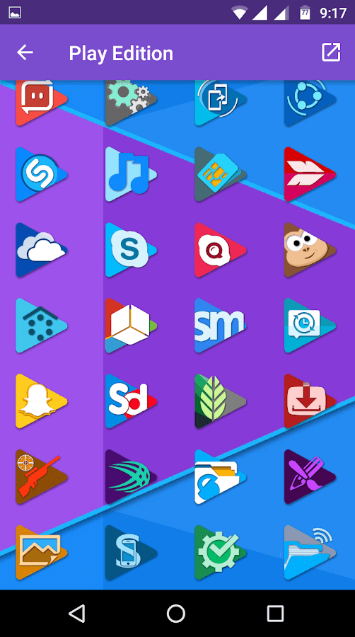 Play Edition Icon pack Screenshot 2