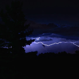 Sidewinder by Wally VanSlyke - Landscapes Weather ( henry co in, indiana, lightning, midwest, weather, summit lake, storm, spring )