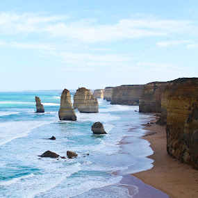Great Ocean by Md Hafiy - Landscapes Mountains & Hills ( blue, cliff, sea )