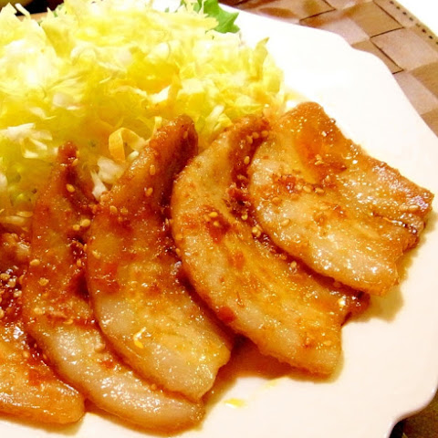 Pan-Grilled Hot and Spicy Pork Belly