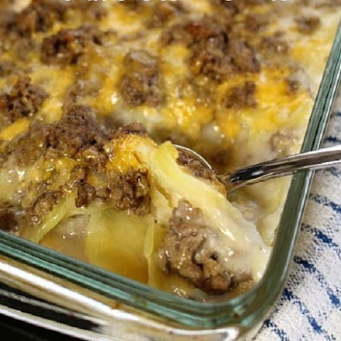Forget Hamburger Helper When You Have This Hamburger and Potato Casserole