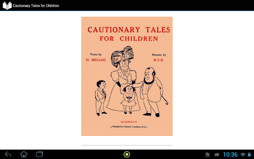 Cautionary Tales for Children - screenshot