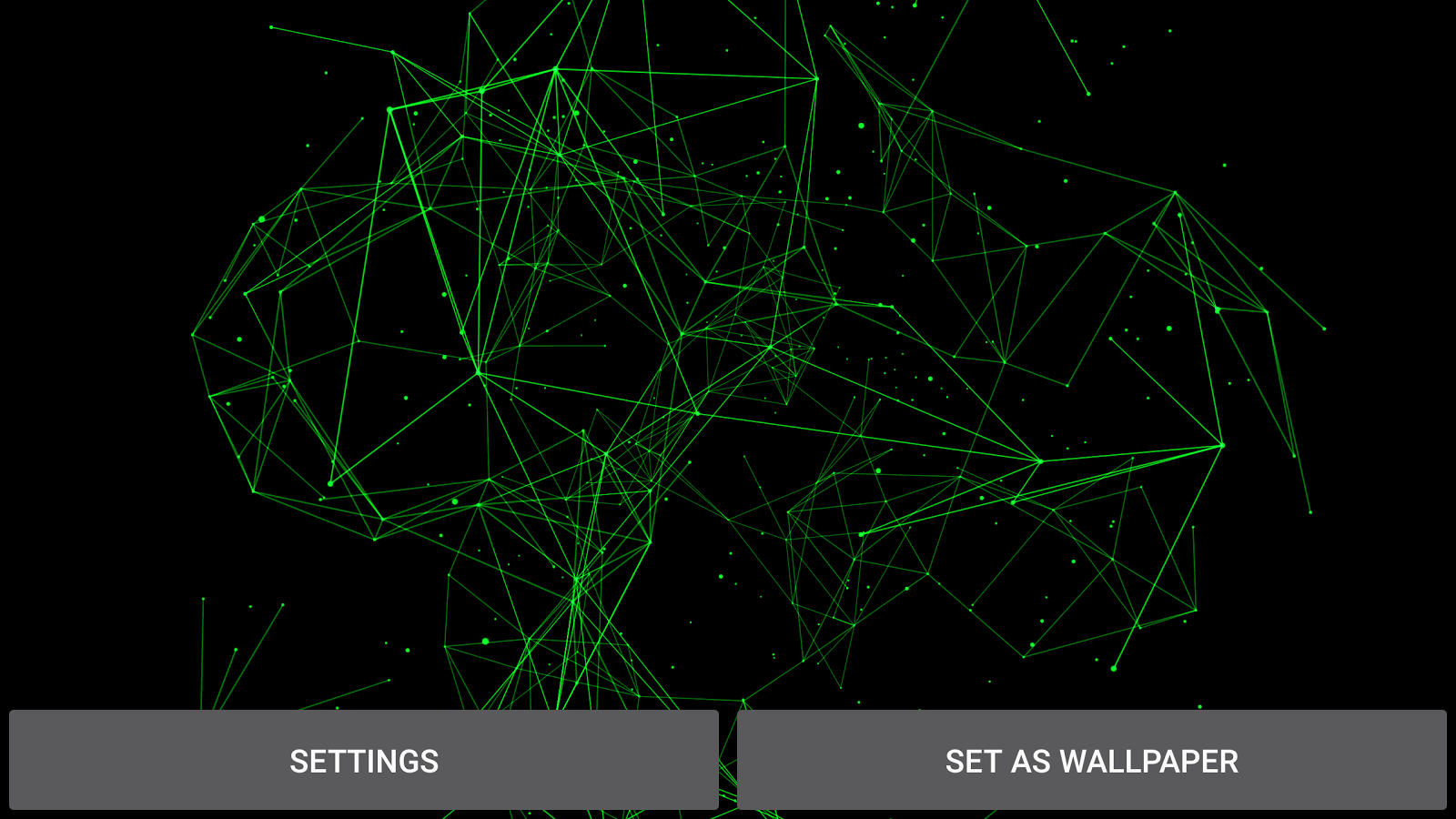 Particle Plexus Live Wallpaper Screenshot 17