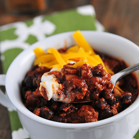 Weeknight Black Bean Chili