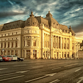 bucharest by Димитър Чобанов - Buildings & Architecture Public & Historical ( bucharest, street, bucuresti, romania, town, city )