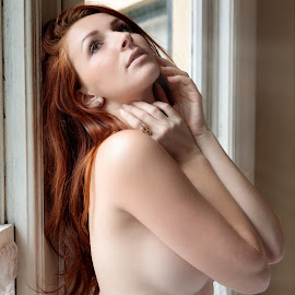Dane - Nude 1 by Xavier Wiechers - Nudes & Boudoir Artistic Nude ( fashion, model, topless, nude, beautiful, indoors, young, pretty, skin, portrait, glamour, sexy, window, gorgeous, woman, elegant, redhead, hair )