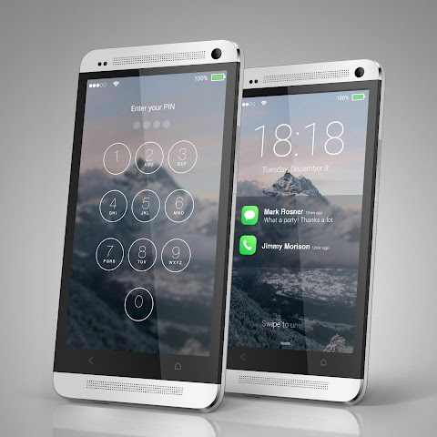 android Lock Screen IOS 9 Screenshot 0