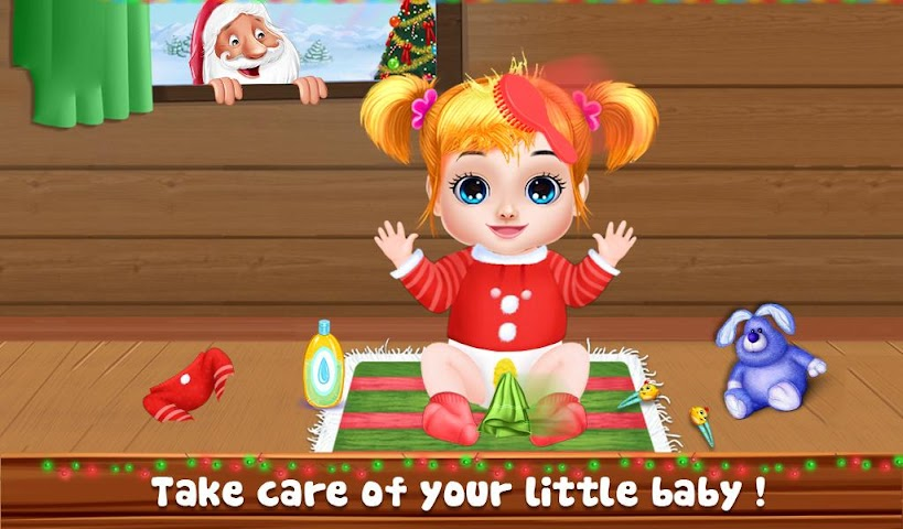 android Christmas Baby Care And Bath Screenshot 1