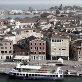 Venice by Maurizio Pugliese - City,  Street & Park  Street Scenes ( venezia, venice, tilt shift )