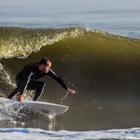 The Wave by Prentiss Findlay - Sports & Fitness Surfing ( ocean sports, surfing, water sports, surfer, beach sports )