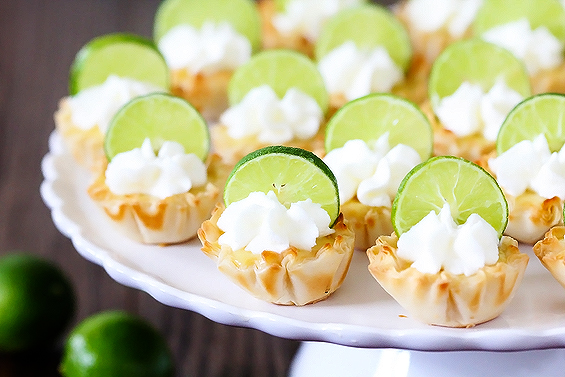 Key Lime Tartlets Recept | Yummly