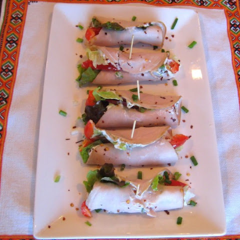 Spicy Turkey Mini Wraps