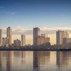 by Francis Cayetano - City,  Street & Park  Skylines