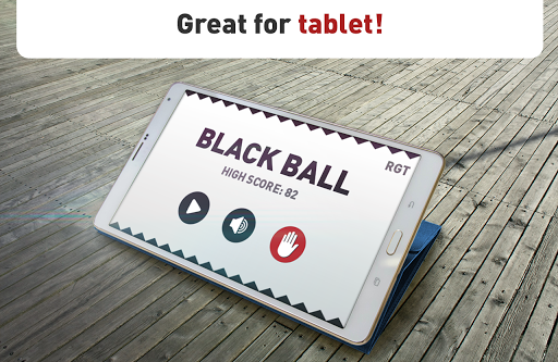 Black Ball - The Bouncing ball For PC
