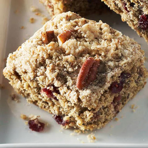 Cranberry-Oatmeal Streusel Bars