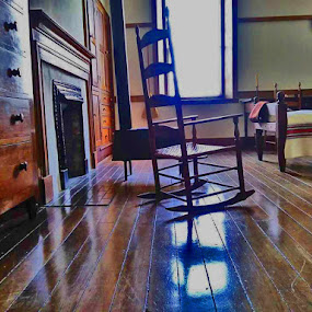 Shaker Rocker by Daryl Peck - Instagram & Mobile Android ( chair, old, shaker, android, novice, artistic object, antique, mobile, rocking chair )