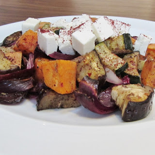 Roasted Vegetable Salad With Feta Recipes