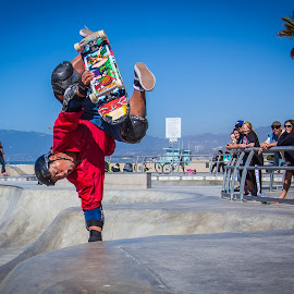 So fun by George Petropoulos - Sports & Fitness Skateboarding ( skateboarding, park, air, fun )