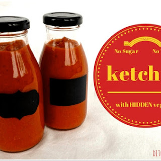Homemade Ketchup with hidden vegetables