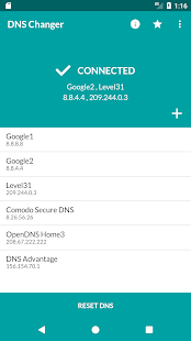 Free DNS Changer (No Root 3G/WiFi) Screenshot