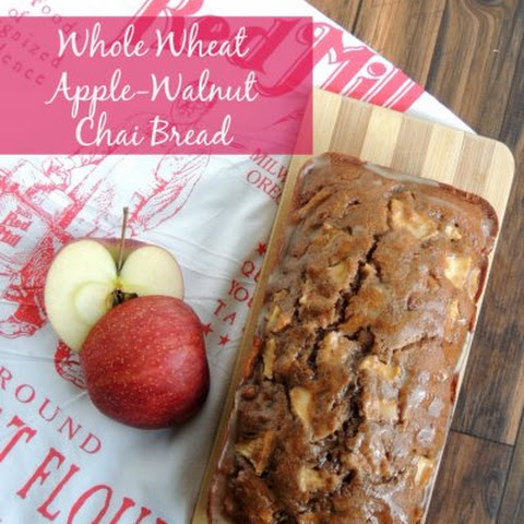 Whole Wheat Apple-Walnut Chai Bread