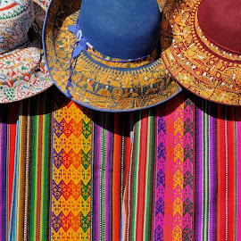 Peruvian designs by Tomasz Budziak - Artistic Objects Clothing & Accessories ( hats, america, peru, designs, colors,  )