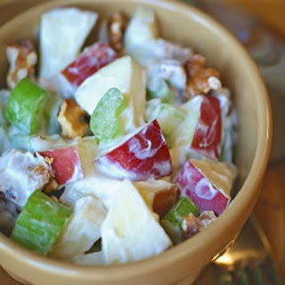 Apple Waldorf Salad With Sour Cream Recipes